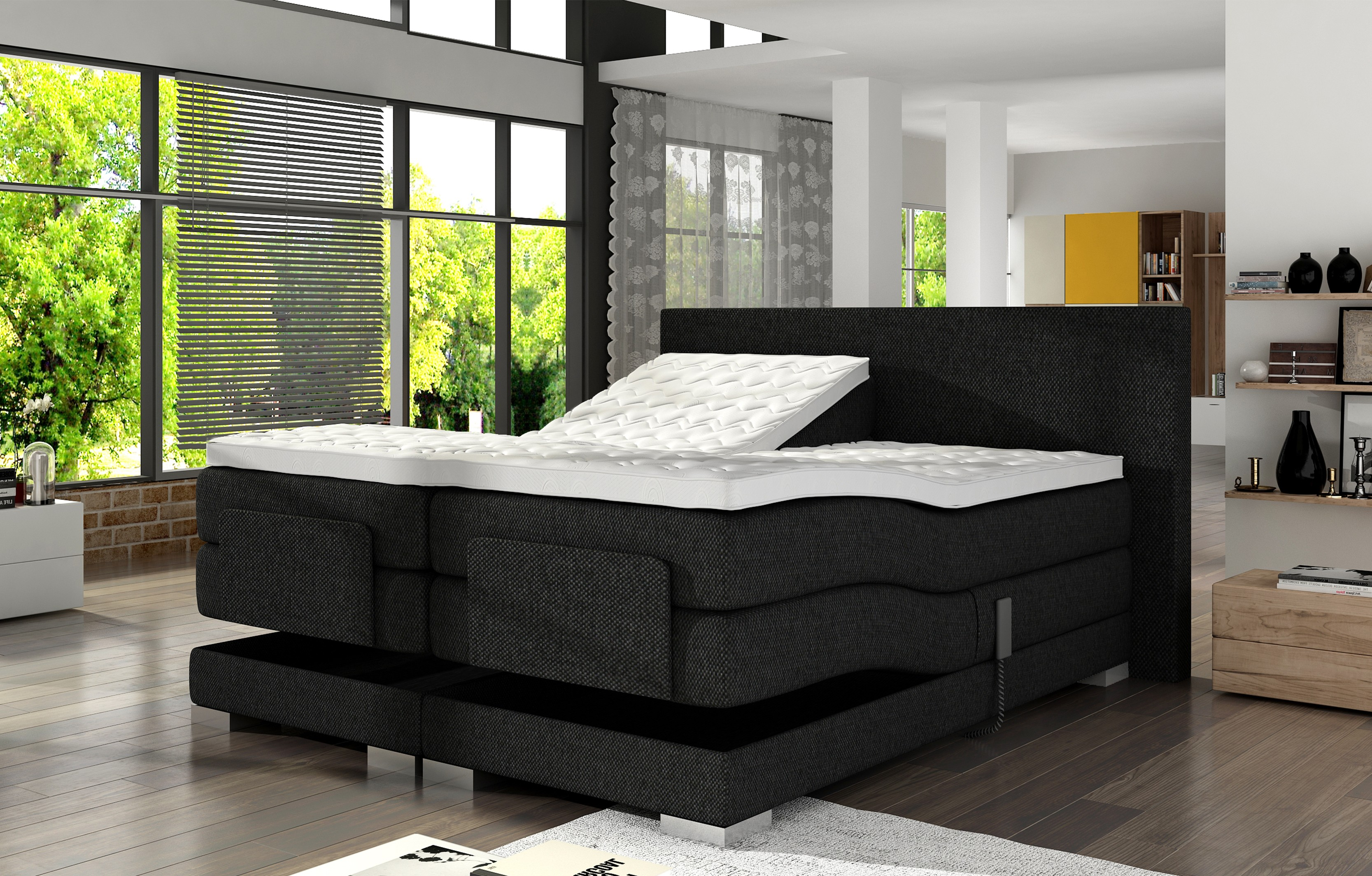 Boxspring set World Elektrischverstelbaar